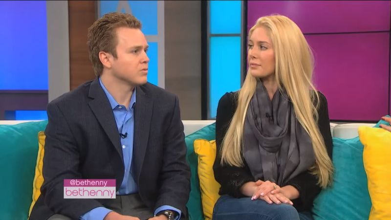 Illustration for article titled Read This: Go ahead and scoff, but Spencer Pratt and Heidi Montag's love is real