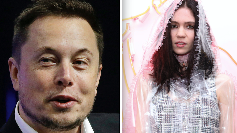 Illustration for article titled Elon Musk and Grimes, a Match Made in the Belly of the Cyborg