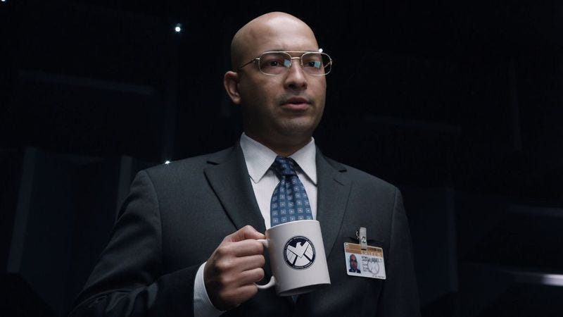 Maximiliano Hernández as Agent Sitwell in Item 47