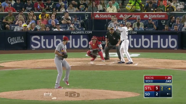 Padres Pitcher Travis Wood Crushes Second-Deck Home Run