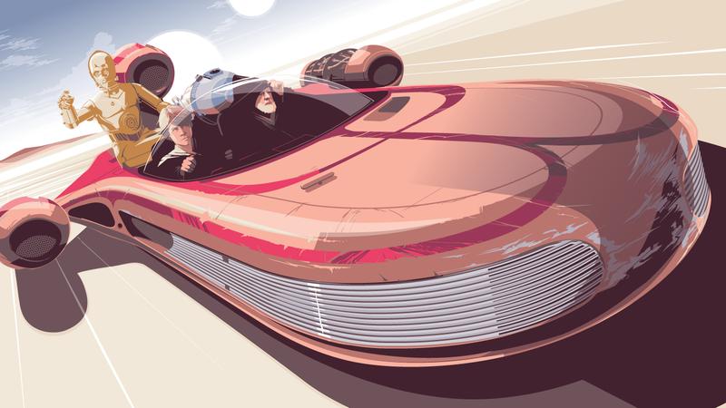 A crop of Speeder by Craig Drake.