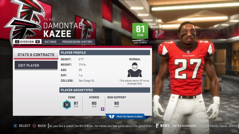 Madden 19' Is As Full Of Anonymous Players As The NFL Itself