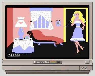 Illustration for article titled Barbie, Star of Barbie Commodore 64 Game, Turns 50 Today
