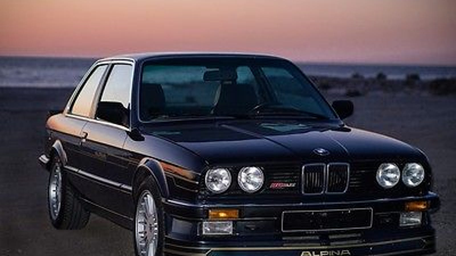 The Only Alpina B6 Bmw E30 325i For Sale In The Us