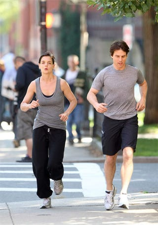 Illustration for article titled The Couple That Jogs Together...