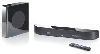 Illustration for article titled Denon DHT-FS3 X-Space Surround Bar Coming To US?
