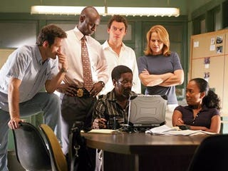 """The fictional police task force on HBO's """"The Wire."""""""