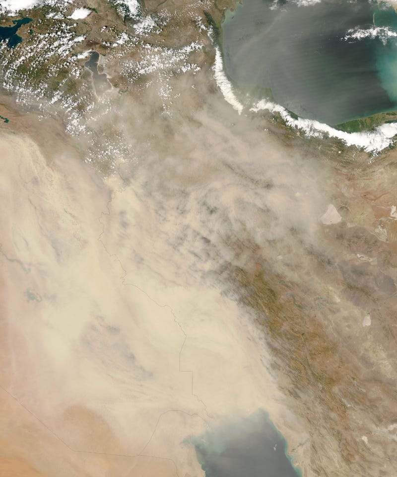 "Illustration for article titled Iraqi Dust Storms Seem Straight Out Of ""Dune"""