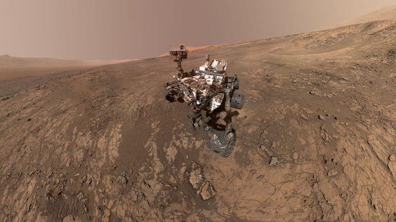 Illustration for article titled El último hallazgo de Curiosity indica que Marte fue habitable hace 3500 millones de años