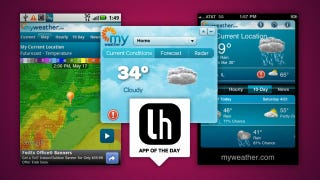"Illustration for article titled MyWeather Is a Customizable, ""6X More Precise"" Weather App for iPhone, Android, and Web"