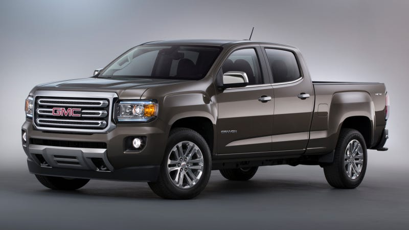 Illustration for article titled 2015 GMC Canyon Specs And First Photos