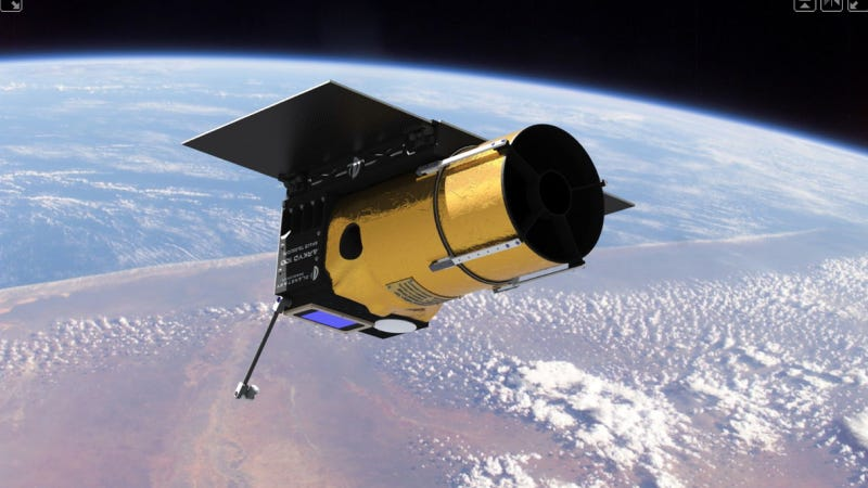 Illustration for article titled Asteroid Miners Will Launch World's First Crowdfunded Space Telescope