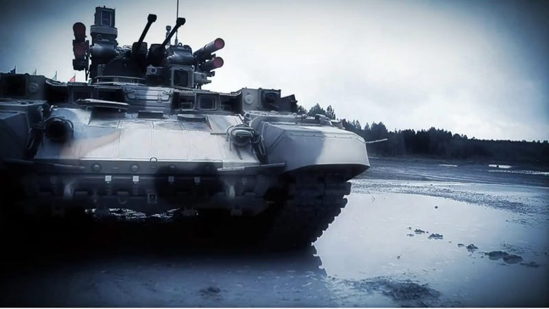Illustration for article titled 52 Tons and Ten Guns: This Tank Killer Killer Makes it Rain Hell