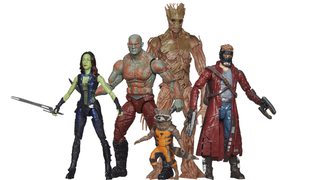 Illustration for article titled The Guardians of the Galaxy figures get new pictures, a release date
