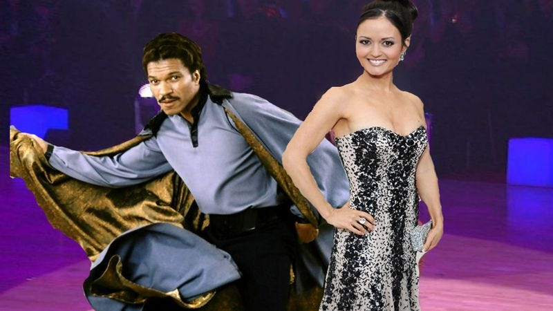 Illustration for article titled Winnie Cooper and Lando Calrissian join next Dancing With The Stars