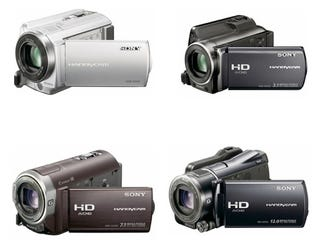 Illustration for article titled Sony's 13 New Handycam Camcorders Are All Basically the Same