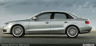 Illustration for article titled Spec'ing the 2009 Audi A4