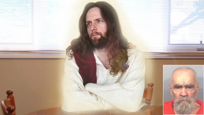 Illustration for article titled Frustrated Jesus Christ Forced To Find 22nd Vessel For Reincarnation After Death Of Charles Manson