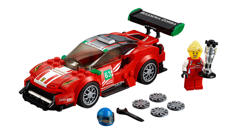 Illustration for article titled Barrier-Breaking Ferrari Ace Christina Nielsen Now Gets Her Own Awesome Lego Set