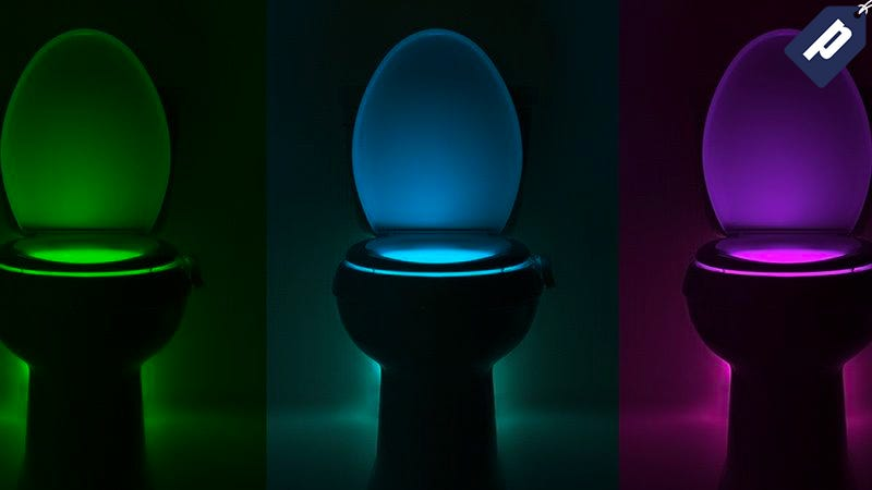 Illustration for article titled Light Up Your Bathroom With The IllumiBowl Toilet Nightlight (15% Off)
