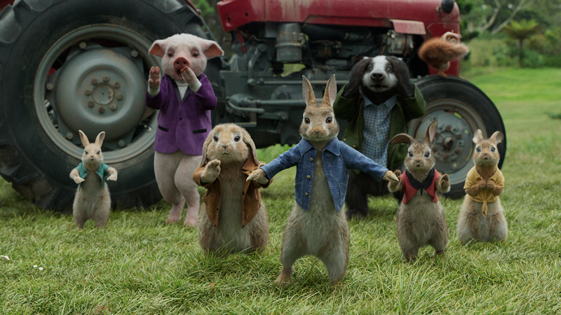 Illustration for article titled Peter Rabbit sequel to terrorize more well-meaning gardeners in 2020