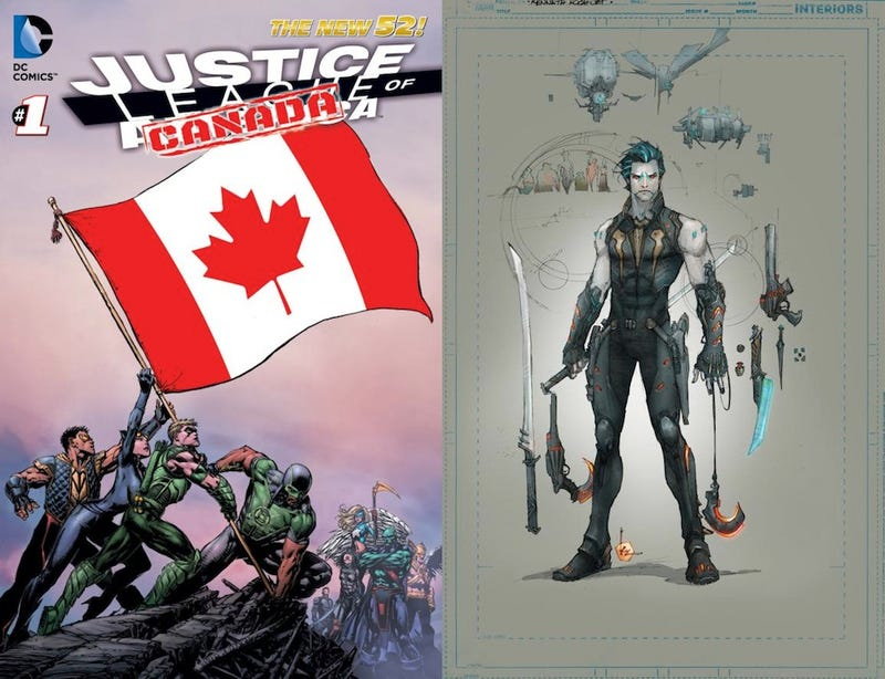 Illustration for article titled DC is moving the JLA to Canada and turned Lobo into a male model