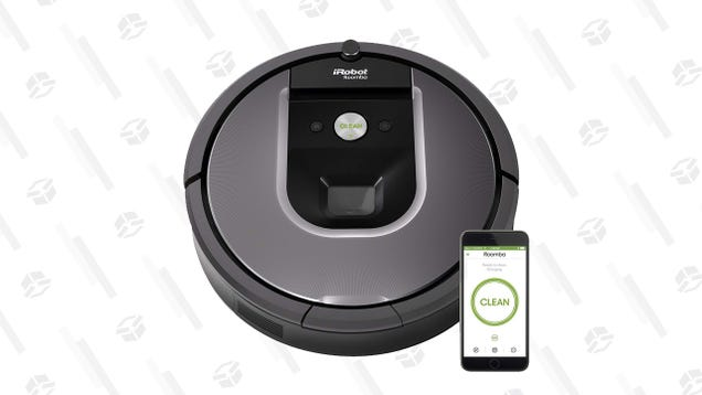 Pick Up an iRobot Roomba 960 For a Low $320, Today Only