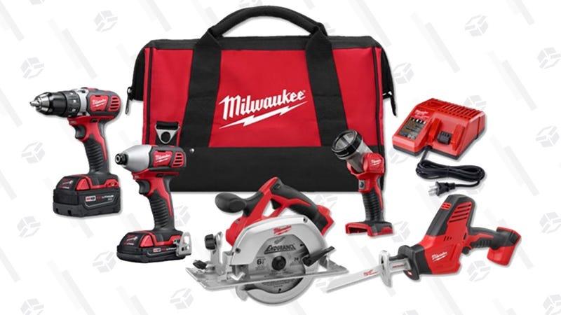 Milwaukee 18V Combo Kit | $300 | Home Depot