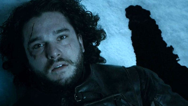 Illustration for article titled HBO: 'Jon Snow' 'Is' 'Dead'