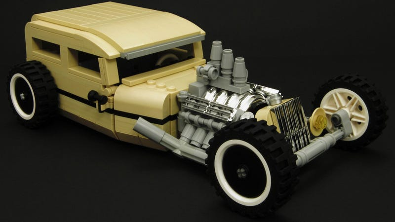 Sleek  slow  and low hot rod