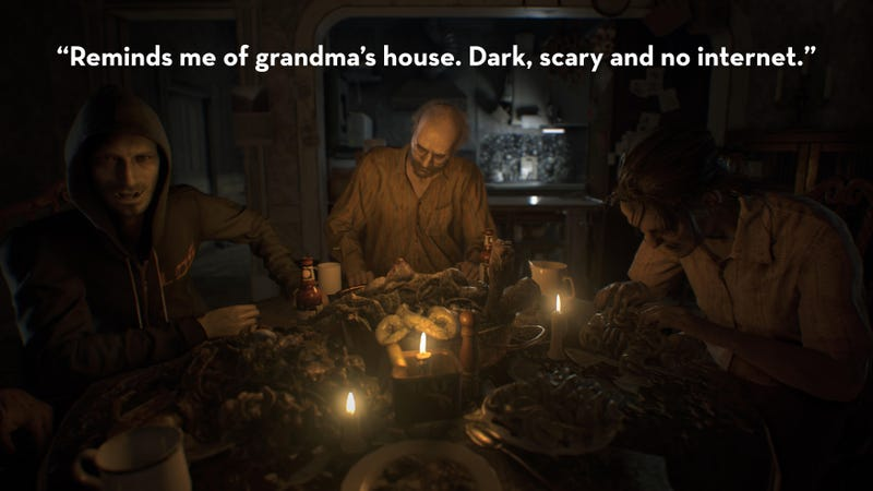 Illustration for article titled Resident Evil 7, As Told By Steam Reviews