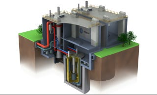 Illustration for article titled Fast-Acting Nuclear Reactor Will Power Through Piles of Plutonium