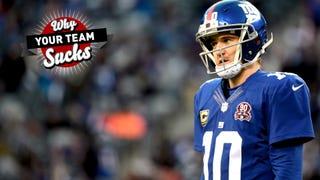 Why Your Team Sucks 2015: New York Giants