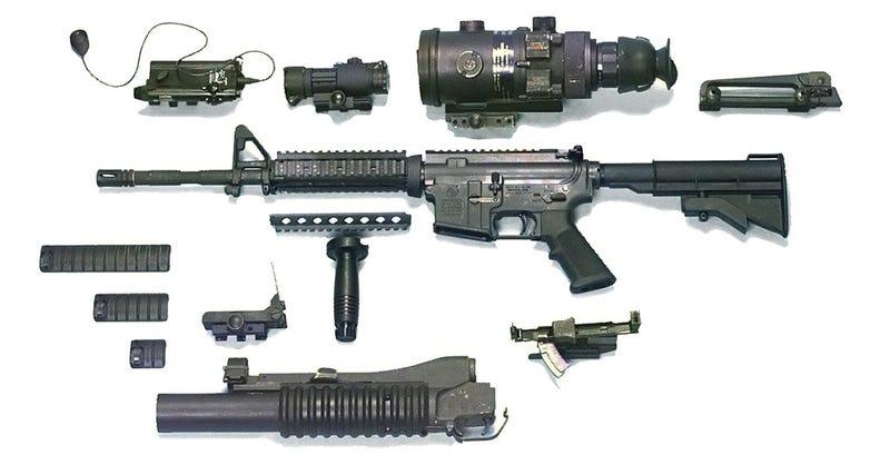 Illustration for article titled Prueban un rifle de pulsos eléctricos ideado para neutralizar máquinas