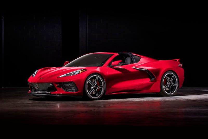 Illustration for article titled More C8 Corvette Content