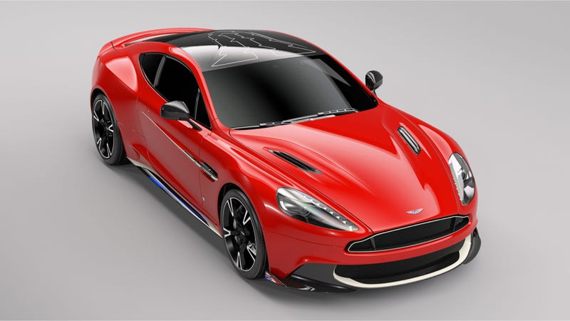 Illustration for article titled This Bespoke Aston Martin Vanquish Is The Badass Jet-Inspired Car You Actually Want