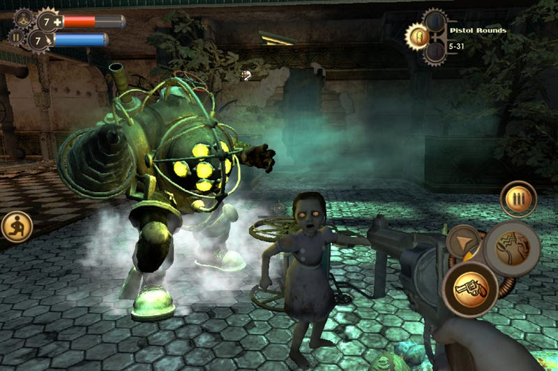 Illustration for article titled BioShock For iOS Is The Worst Way To Play A Great Game