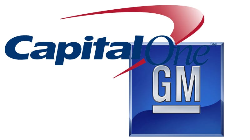 Gm Capital One >> Capital One And General Motors Introduce New Automotive