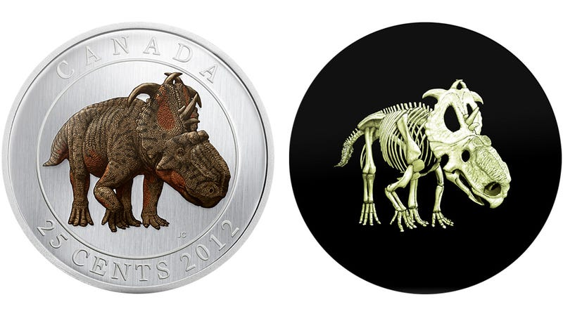 Illustration for article titled Glow-in-the-Dark Dinosaur Quarter Is Actual Legal Tender