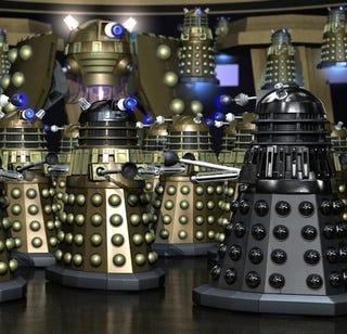 Illustration for article titled Why I'm Scared of Daleks