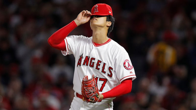 Illustration for article titled Shohei Ohtani Got Yanked After Just Two Innings