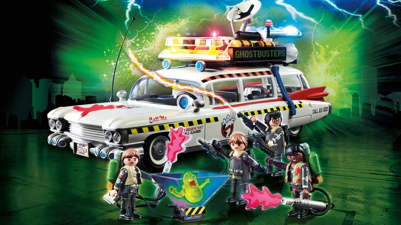 Playmobil's Ghostbusters II Toys Actually Make the Disappointing Sequel a Little Better
