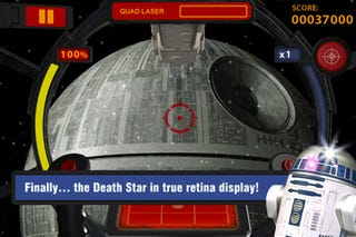 Illustration for article titled Pew: Shoot Down TIE Fighters in Star Wars' $5 Augmented Reality iPhone App