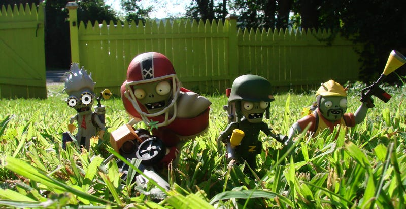 Illustration for article titled The Plants Vs. Zombies: Garden Warfare Action Figures Are Coming