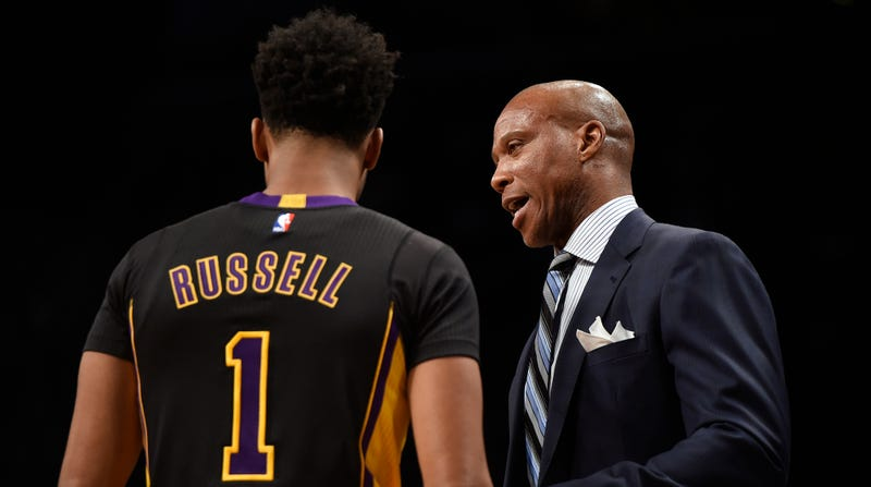Illustration for article titled What The Hell Are The Lakers Doing With D'Angelo Russell?