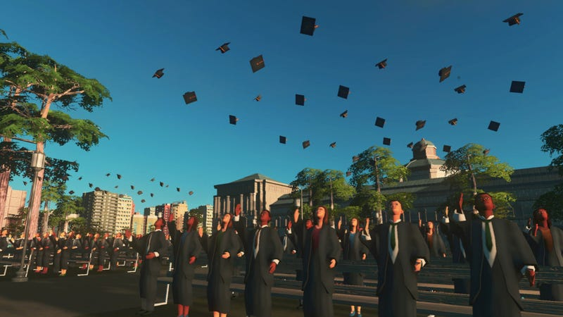 Illustration for article titled Cities: Skylines Is Going Back To College