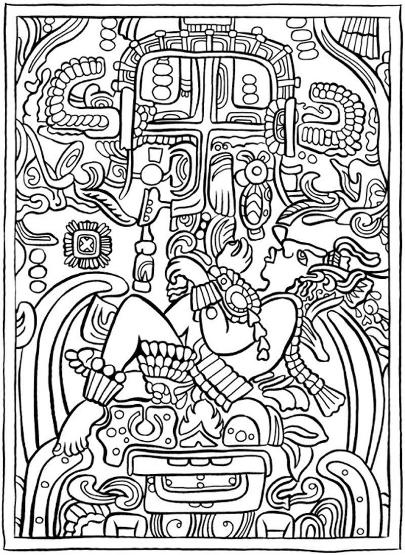 The coloring book book - Artists And Conspiracy Theorists Will Get Equal Enjoyment Out Of The Ancient Aliens Coloring Book