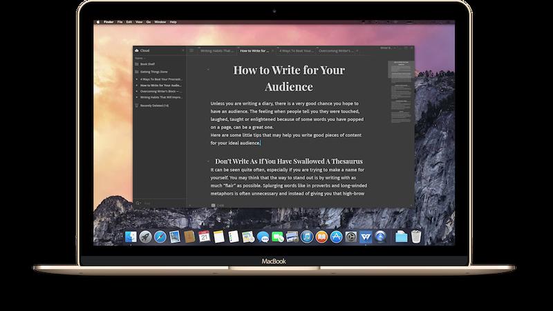 Essay writer mac