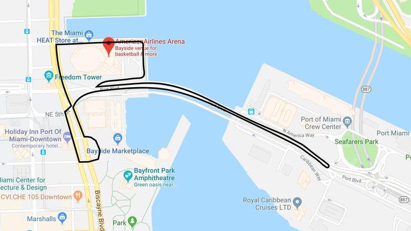Der Vorgeschlagene Miami F1 Circuit Sieht Aus Wie Ein Haufen Bobby
