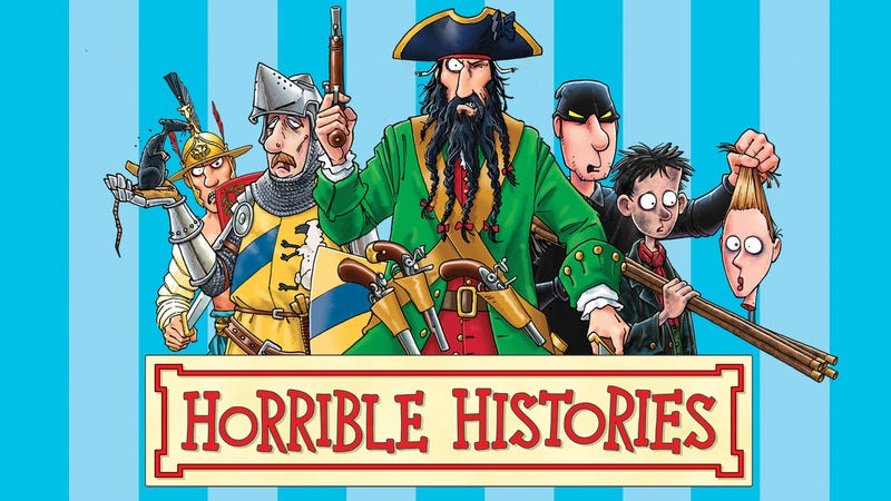 Illustration for article titled Terry Deary's Horrible History series is coming to an end after 20 years